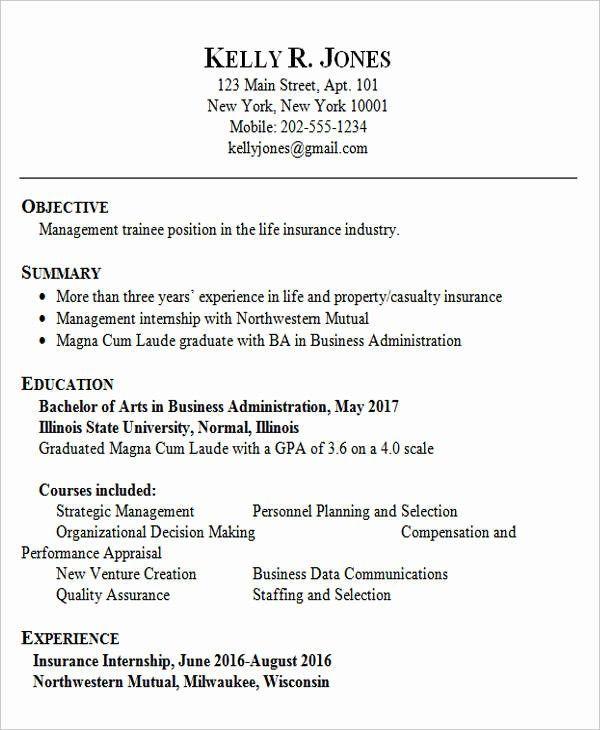 Biotechnology Resume Example Fresh Graduates New Best Resume Samples For Fresh G Biotechnology Fre Resume Examples Job Resume Examples Chronological Resume