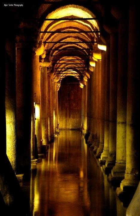 The Basilic Cistern Yerebatan Sarnıcı