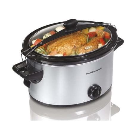 Hamilton Beach 33269 Counter-top Stay or Go Slow Cooker, 5-Quart, Silver – KITCHEN APPLIANCES