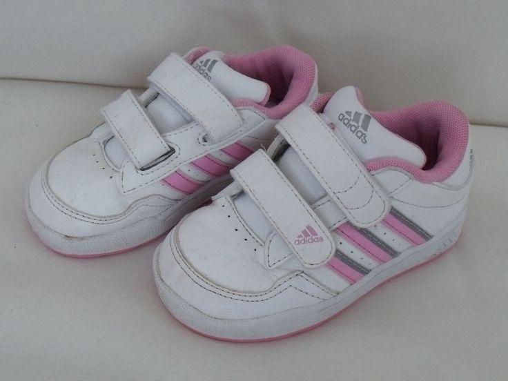 http://www.ebay.fr/itm/BASKET-ADIDAS-FILLE-FILLETTE-ROSE-BLANC-BON-ETAT-taille-23-/111460139050?pt=FR_Bebe_Chaussures