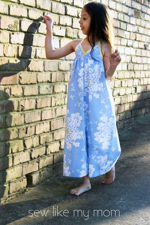 Sew Like My Mom | Bias Maxi Dress tutorial