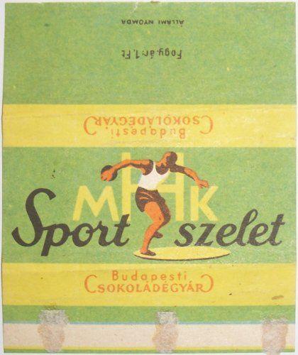 60 éves a Sport szelet :)! A csokoládé a Népstadion átadására készült el 1953. augusztus 20-án, csomagolásának jellegzetes zöld szí...