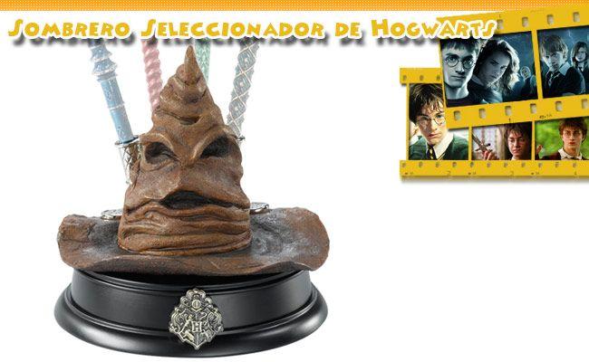 Expositor Sombrero Seleccionador de Hogwarts