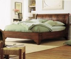 Sleigh Beds : Charles P. Rogers Beds Direct, Makers of fine beds & bedding since 1855