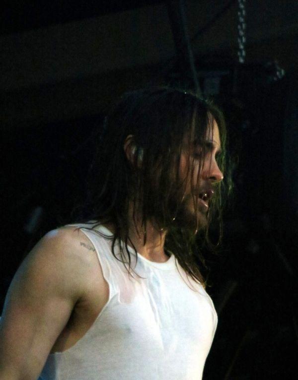 Jared won the wet tee shirt contest!