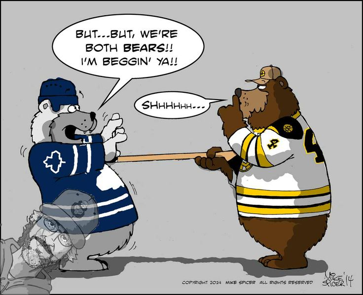 Bruins Bostonbruins Torontomapleleafs Mike Spicers