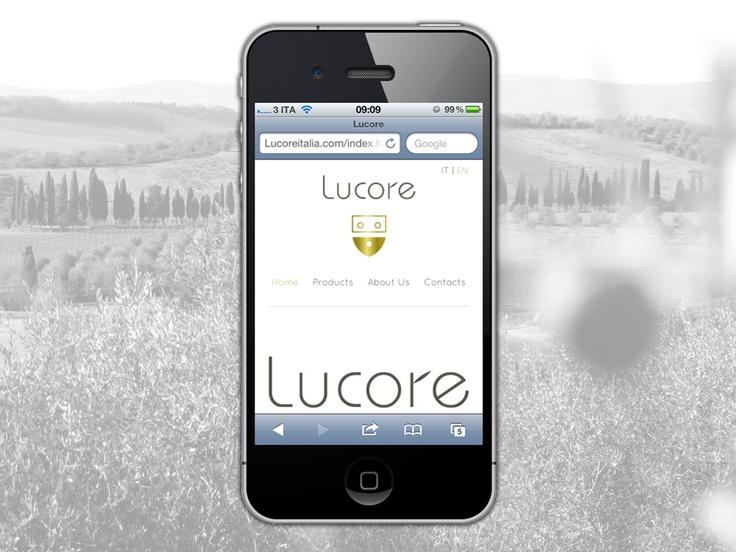 Design web site Lucore   Responsive Tecnology.