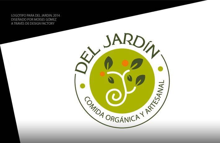 Logotipo Del Jardín