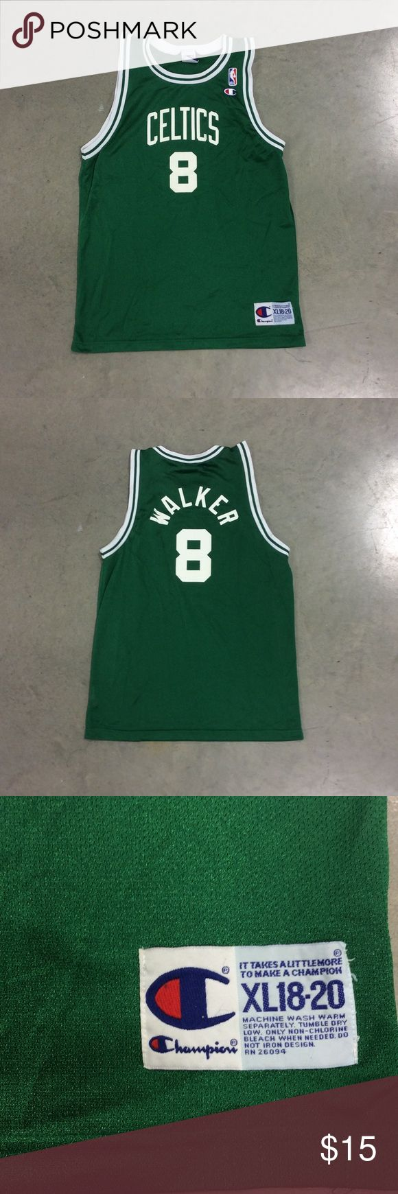 Boston Celtics - Antoine Walker - NBA Jersey Good condition, slightly lighter than it appears in the pictures Champion Other