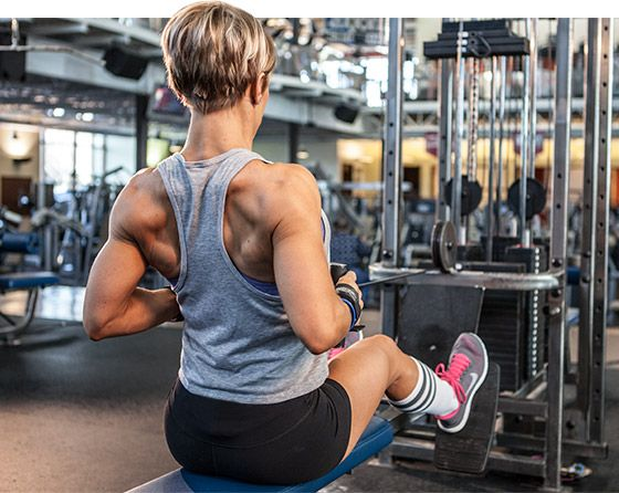 Bodybuilding.com - Sexy Back: Jessie Hilgenberg Back Workout Incorporate some into chest/back day