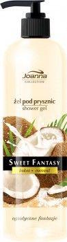 Żel pod prysznic Sweet Fantasy Kokos to prawdziwa uczta dla Twoich zmysłów. Intensywnie pachnący żel nie tylko doskonale oczyszcza, ale także wyśmienicie pielęgnuje ciało. Zawarte w nim składniki odżywcze dbają o skórę, zmiękczają ją i nawilżają, a egzotyczny zapach sprawia, że każda kąpiel staje się rytuałem.