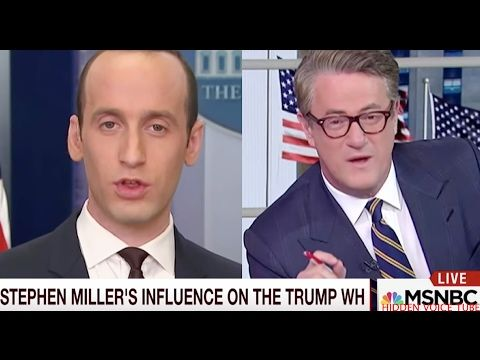 """You're a DISGRACE"" Morning JOE ATTACKS Donald Trump's Advisor Stephen Miller_Horrendous, Worst.... - YouTube"