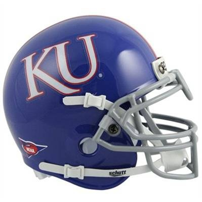 University of Kansas Jayhawks football game helmet