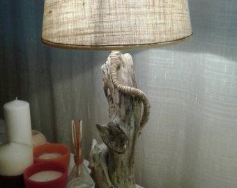 Lampada legni di mare