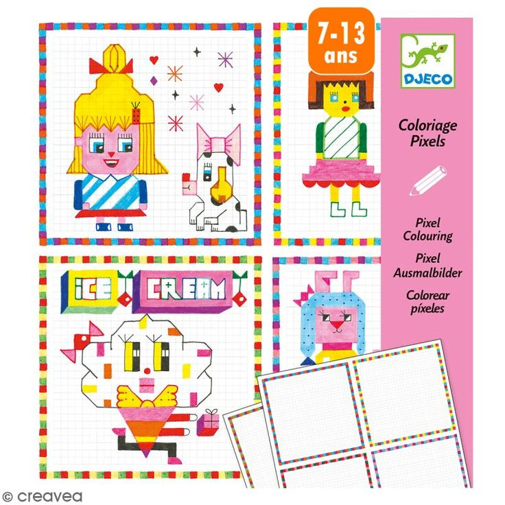 Compra nuestros productos a precios mini Colorear píxeles Hipster girls - 20 creaciones - Entrega rápida, gratuita a partir de 89 € !