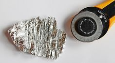 Rollschneider schärfen - mit Alufolie                                                                               Mehr