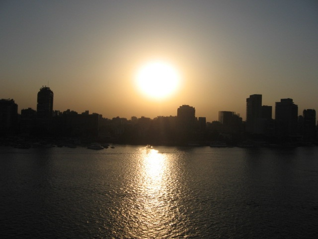 Sunset on the Nile - Cairo