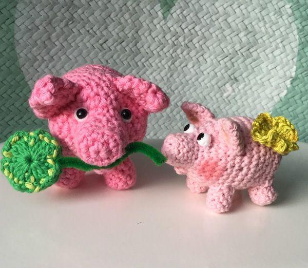 Kostenlos schnelle Schwein- Quick Quiecky...Glücksbringer mit kleinem Augentutorial