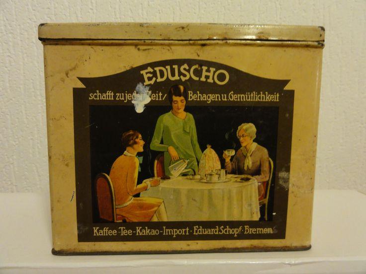 EDUSCHO Kaffeedose Blechdose Bremen alt | eBay