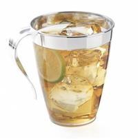 10188 8 oz Platinum Clear Coffee Mugs