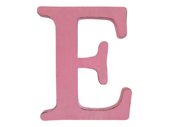 Country letter wall decor