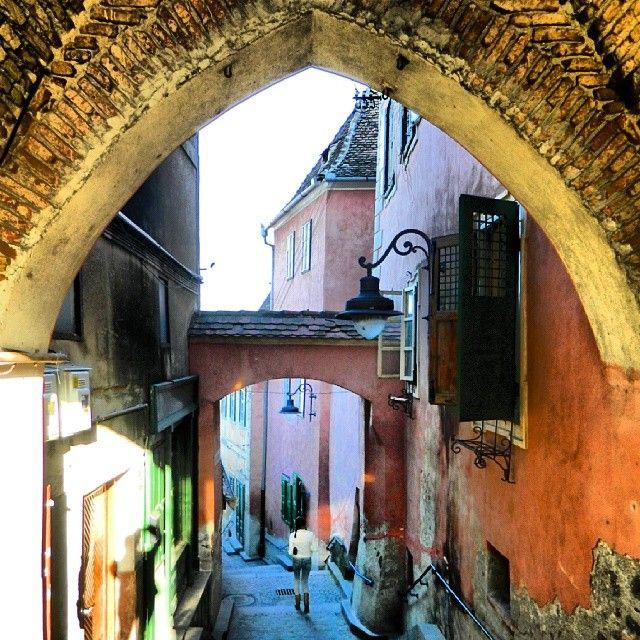 Romania, Sibiu- the old city