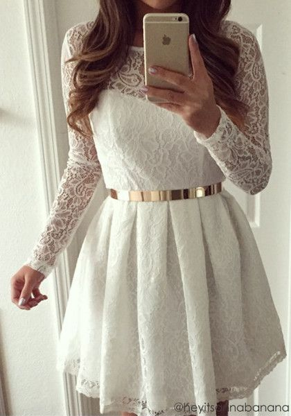 Lace Bodycon Style Dress