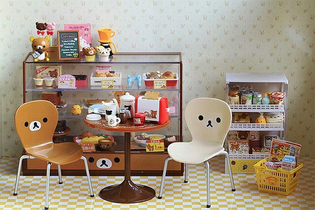 Rement rilakkuma cafe