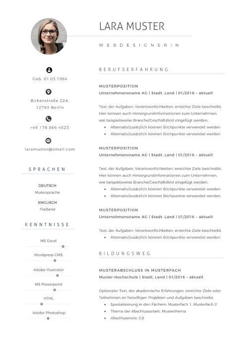 Lebenslauf Vorlage 10 Lebenslauf Portfolio Vorlage Resume Template Resume User Experience Infographic