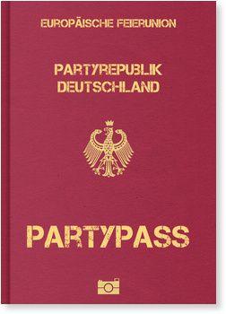 Partypass Einladung zum Geburtstag: 1. - 111. Geburtstag