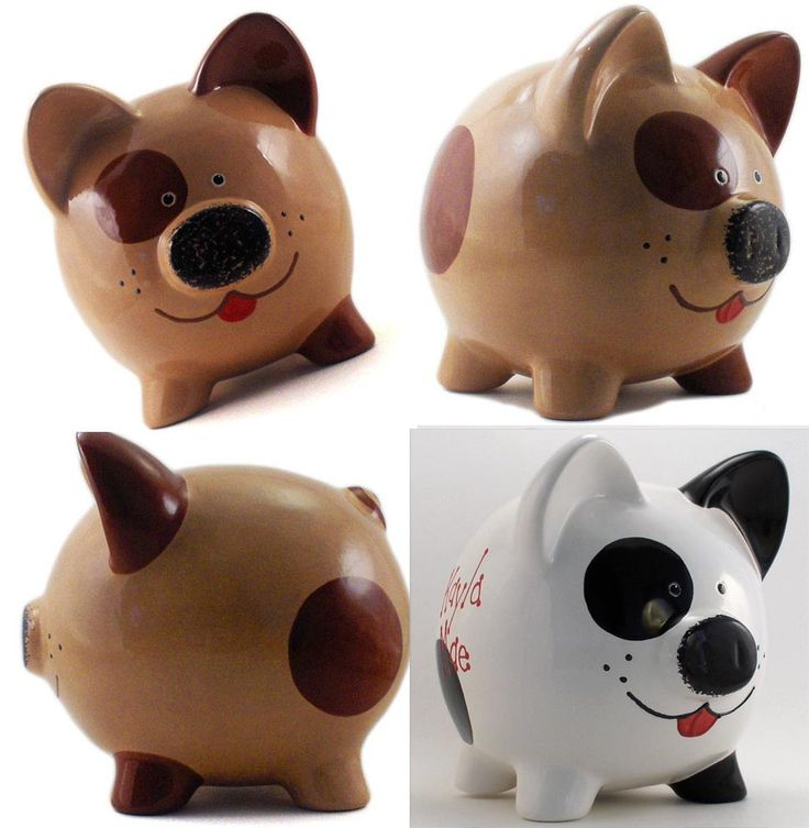 Dog Piggy Bank                                                                                                                                                                                 Más