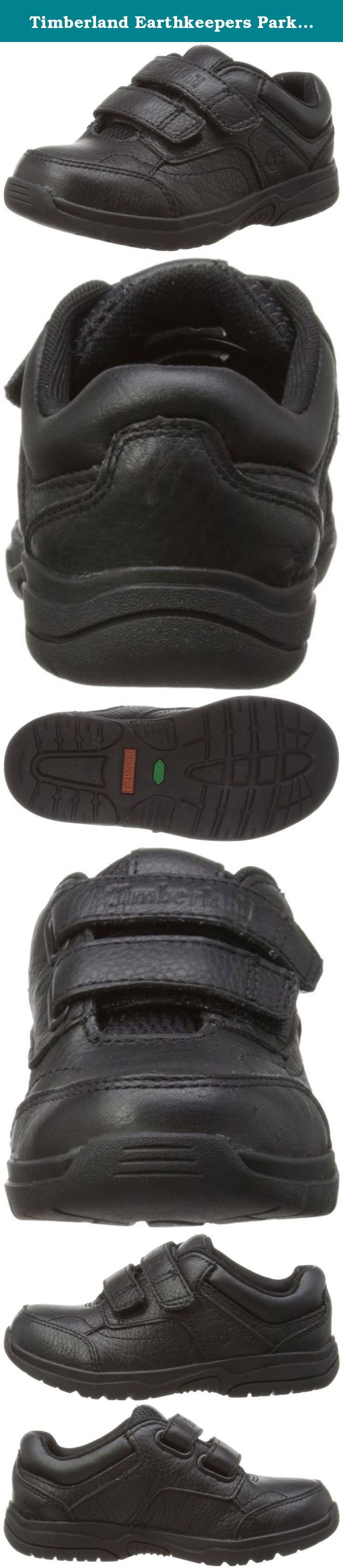 Timberland Earthkeepers Park Street Hook and Loop Oxford (Toddler/Little Kid/Big Kid),Black,8 M US Toddler. Crash Blaster technology and an Ortholite footbed provide all-day cushioning and comfort for kids.