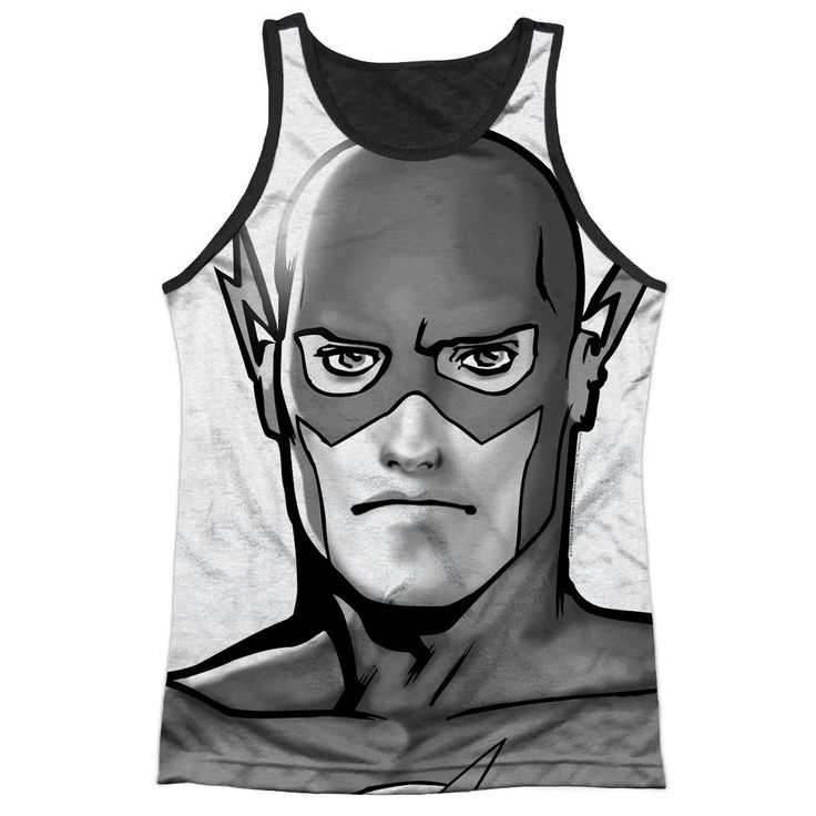 """Checkout our #LicensedGear products FREE SHIPPING + 10% OFF Coupon Code """"Official"""" Jla/bw Flash Head-adult Poly Tank Top T- Shirt - Jla/bw Flash Head-adult Poly Tank Top T- Shirt - Price: $24.99. Buy now at https://officiallylicensedgear.com/jla-bw-flash-head-adult-poly-tank-top-t-shirt-licensed"""