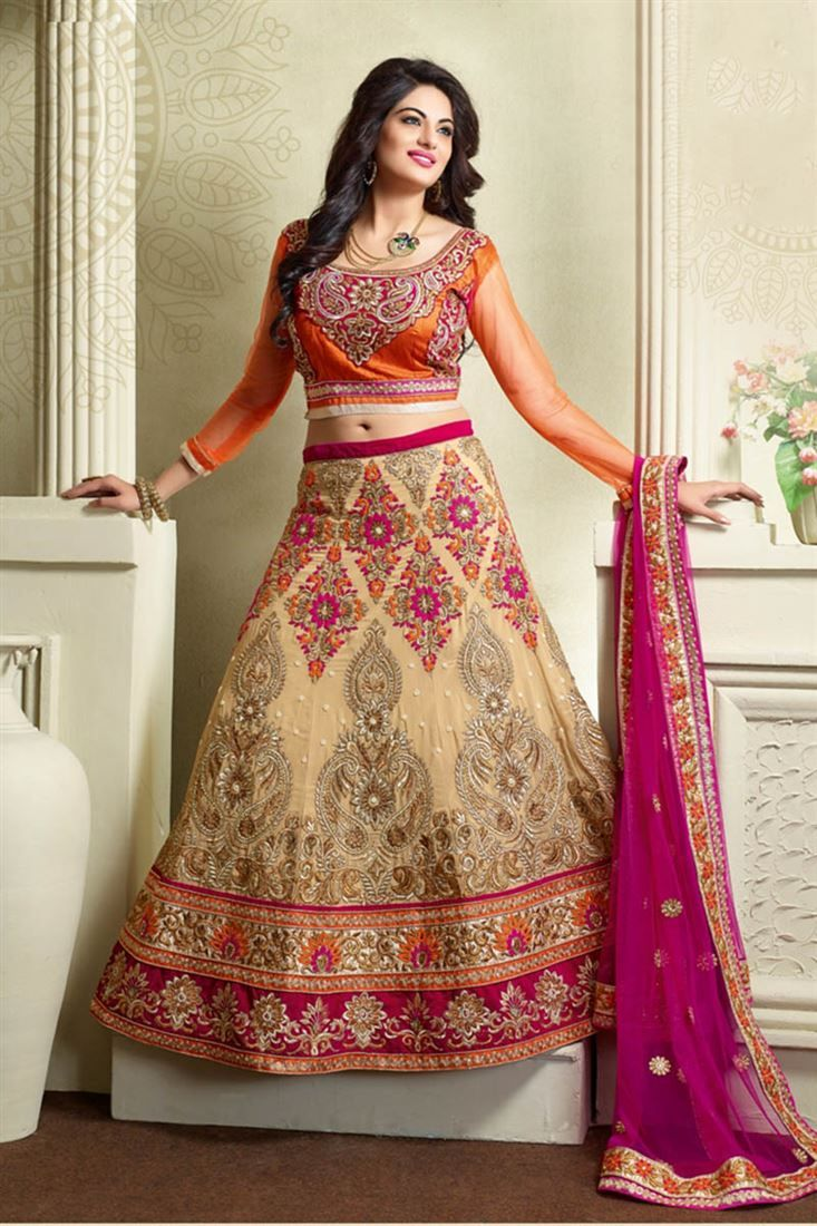 40c90eb6b41d Trendy Indian Latest Bridal Lehenga Designs Collection 2018 | dress ...