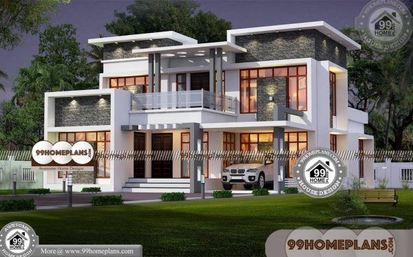 Buy Home Plans Best 2 Storey Homes Design 100 Modern Collections Duplex House Design Modern House Design Kerala House Design