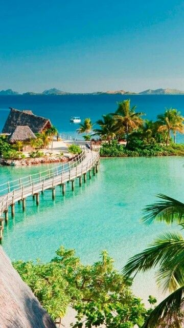 Fiji.... beautiful.... on the list of places I'm going soon.