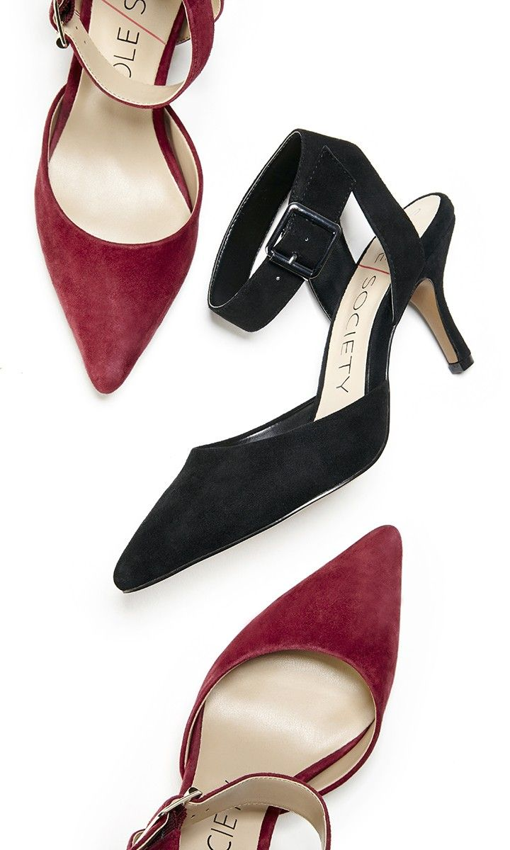 """Bestselling d""""Orsay mid heels with pointed toes, adjustable ankle straps and buckle details"""