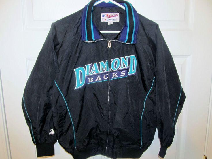Arizona Diamondbacks Authentic Dugout Jacket , youth large ...