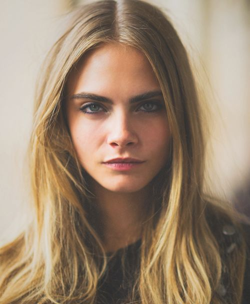 I just don't think that I trust men. That's the problem. I can appreciate a beautiful-looking man, but he's not my type. Cara Delevigne