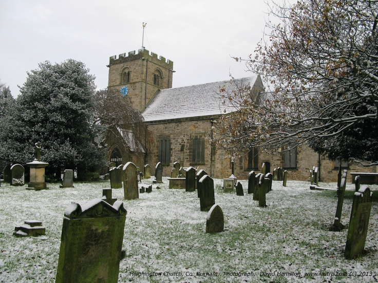 Heighington Parish church with a dusting of snow.  Would this make a suitable Christmas card?  Your thoughts would be appreciated.