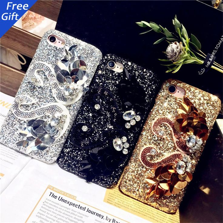 3D Luxury Gold Silver Black Swan Glitter Bling Shiny Rhinestone case for iPhone 6 6s Plus. Compatible iPhone Model: iPhone 6 Plus,iPhone 6s,iPhone 6,iPhone 6s plus,iphone 7,iphone 7 PlusRetail Package: YesBrand Name: dower meCompatible Brand: Apple iPhonesType: CaseFunction: Dirt-resistantSize: 4.7inch/5.5inchmaterial: 3d swan bling hard caseQuality: A++++Type: Phone Case,Phone Back Cover,Coque,Shell,Coque,Funda,Carcasa,Capadesign: Cartoon Cover Case,pinkPackaging: With OPP bagfeature 1…