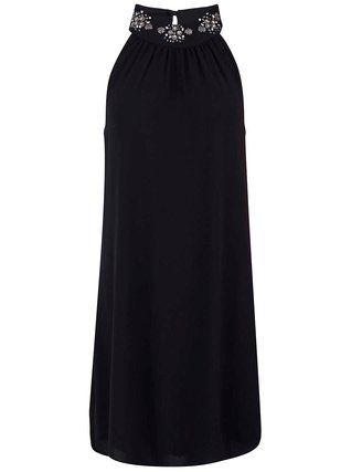 Vero Moda - Černé šaty se zdobením  Taylor - 1