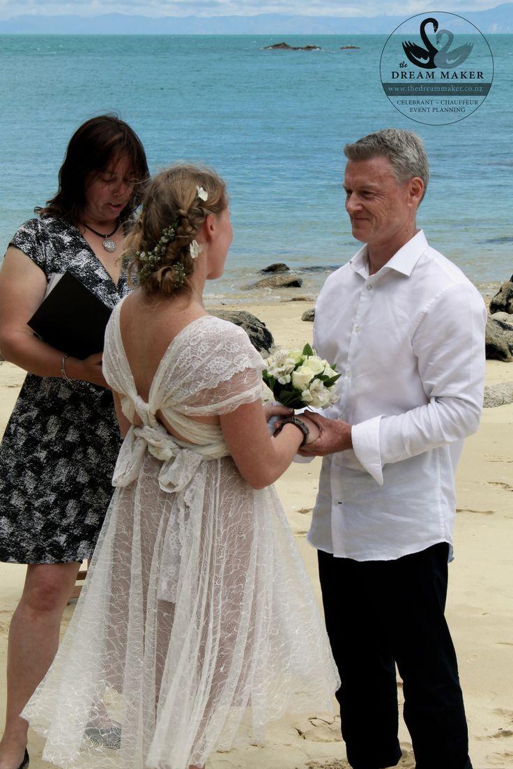 Memorable Bespoke weddings in the Abel Tasman by The Dream Maker