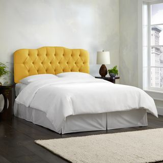 Shop for Skyline Furniture Linen French Yellow Tufted Headboard. Get free delivery at Overstock.com - Your Online Furniture Shop! Get 5% in rewards with Club O!