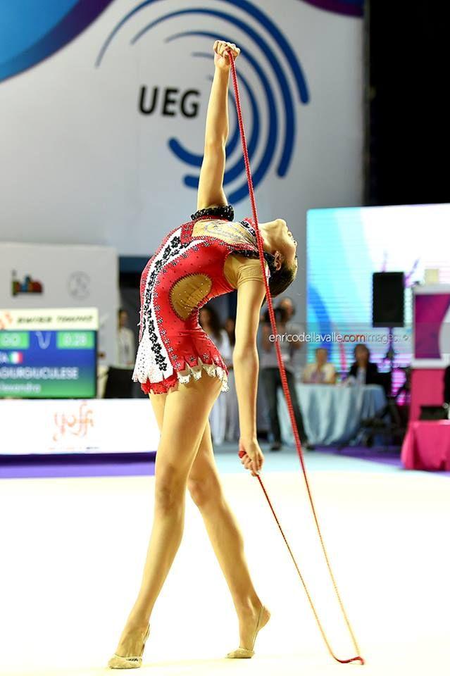 Alexandra Ana Maria Agiurgiuculese (Italy), European Championships (Holon) 2016