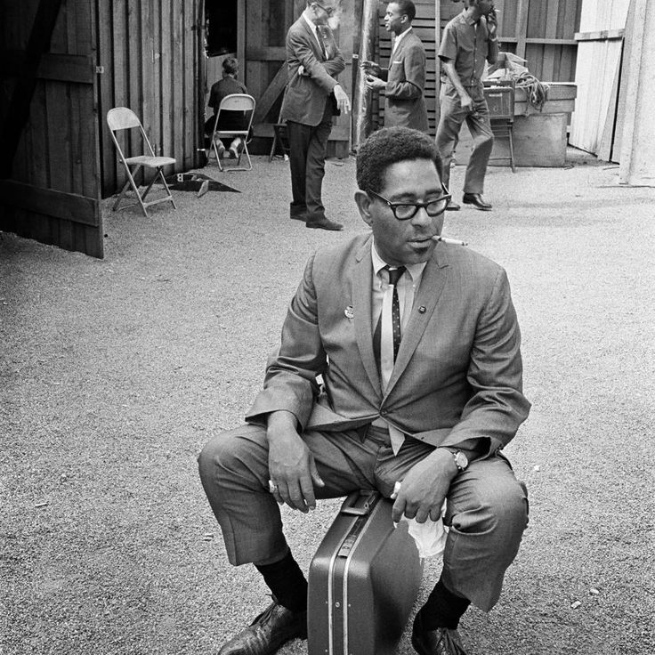 Dizzy Gillespie photographed at The Monterey Jazz Festival in Monterey, CA September 20, 1963