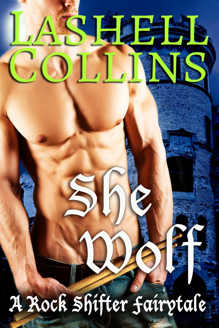 Shifter Romance Book Cover for She Wolf for Author Lashell Collins by Chloe Belle Arts.