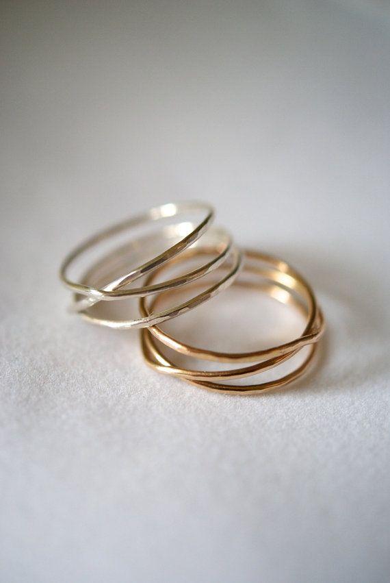 14K Gold Fill Wraparound ring gold fill wrap ring by hannahnaomi