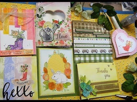 1 KIT 10 AND MORE CARD WITH SIMONSAYS March 2018 Card Kit part 2 - YouTube
