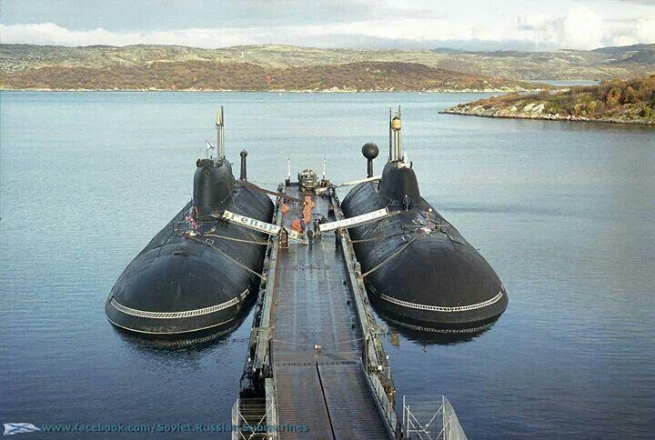 "Akula class submarines ""Cheetah"" and ""Leopard"""